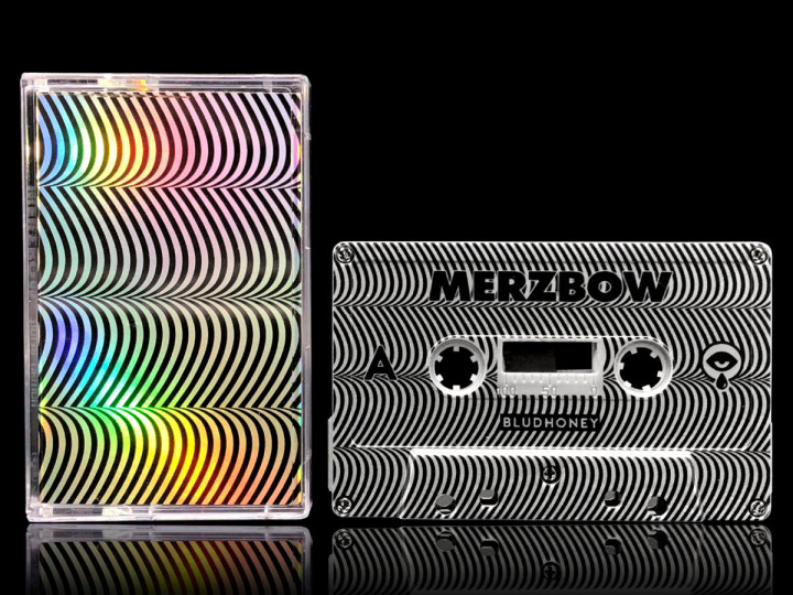 Cassette collector de l'album Demon Pulse de Merzbow (Bludhoney Records, 2018).