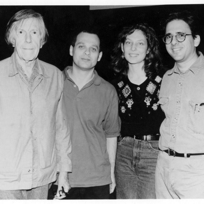 John Cage, David Lang, Julia Wolfe et Michael Gordon — © Louisa Dedalus