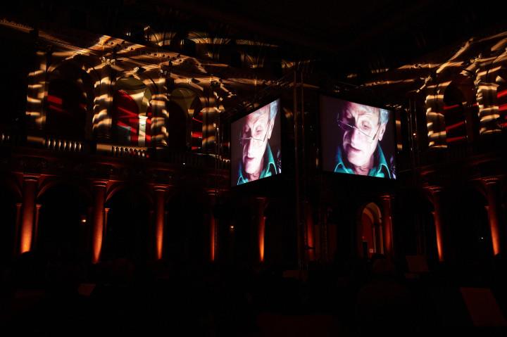 Projection du film  ARTE  Iannis Xenakis au Palais Universitaire Philippe Stirnweiss