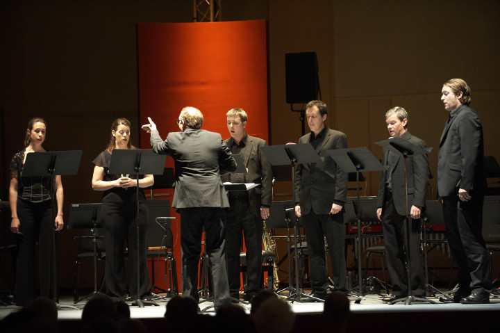 L'ensemble vocal Exaudi Philippe Stirnweiss