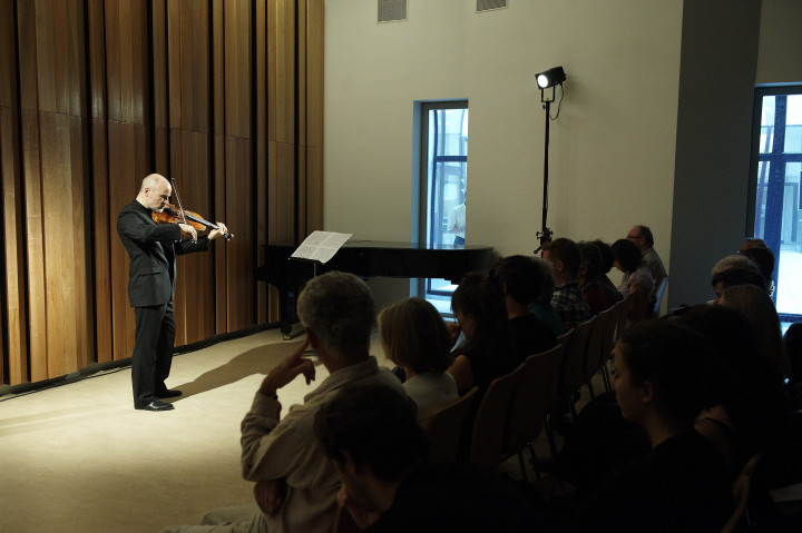 Christophe Desjardins aux Portes ouvertes de Musica 2011 Philippe Stirnweiss