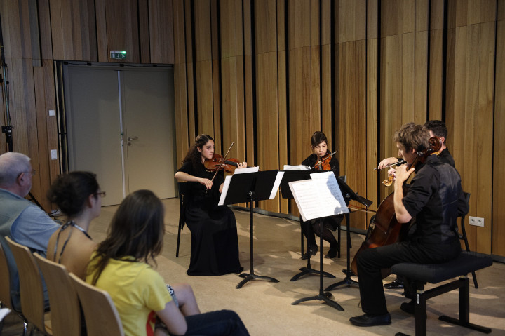Quatuor Errera du Conservatoire de Strasbourg Philippe Stirnweiss