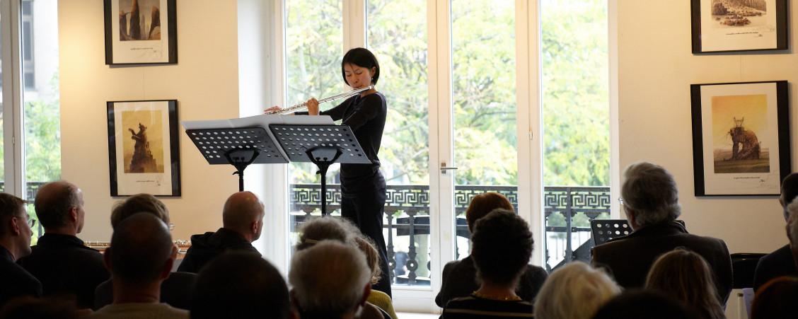 Pierre Strauch, Violoncelle / Keiko Murakami, Flûte