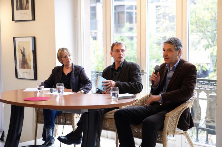 Laurence Helleu, Pierre Michel et Philippe Albera Philippe Stirnweiss