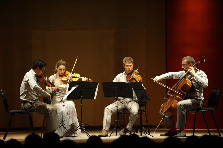 Quatuor Diotima Philippe Stirnweiss