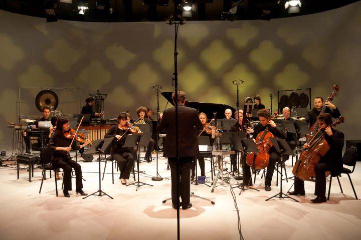 Jean-Philippe Wurtz dirige l'ensemble Linea Philippe Stirnweiss