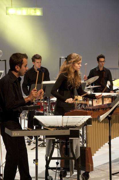 L'ensemble de percussions du CNSMDP Camille Roux