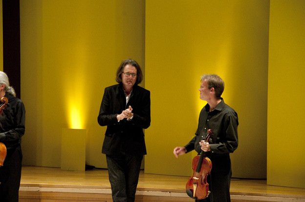 Pascal Dusapin avec le quatuor Arditti Camille Roux