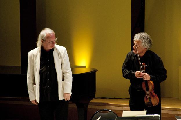 Philippe Manoury avec le quatuor Arditti Camille Roux
