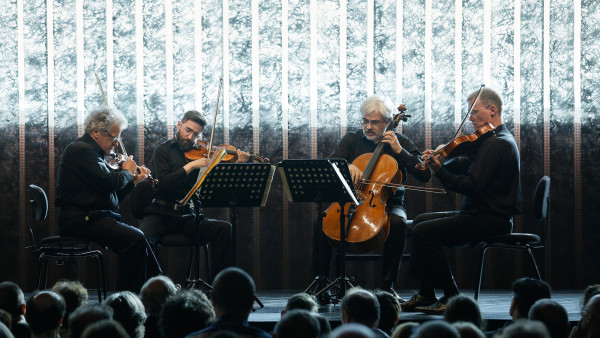 Portrait Hugues Dufourt #2 - Quatuor Arditti