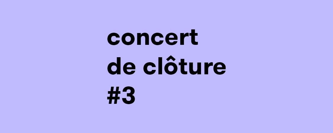 L'Imaginaire + Ensemble Linea + Les Percussions de Strasbourg + Voix de Stras' + AxisModula + Quatuor Adastra + Les Chapeaux Noirs + HANATSUmiroir + lovemusic