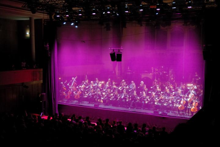"""l'Orchestre de Liège joue """"Trans"""" de K. Stockhausen Philippe Stirnweiss"""