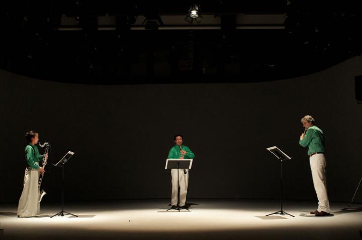"L'Ensemble Recherche joue ""Klang"" de K. Stockhausen Philippe Stirnweiss"