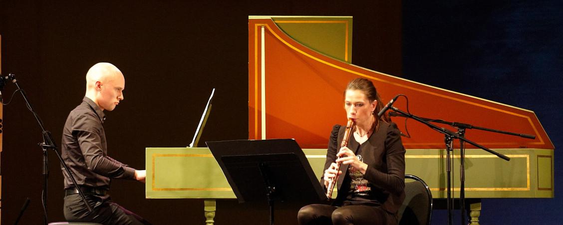 Susanne Fröhlich, flûte Paetzold / Petteri Pitko, clavecin