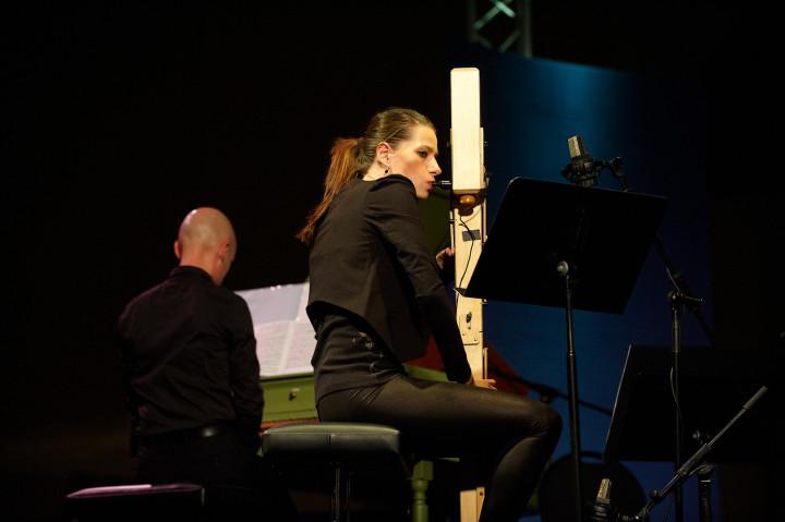 S. Fröhlich, flûte Paetzold / P. Pitko, clavecin Philippe Stirnweiss