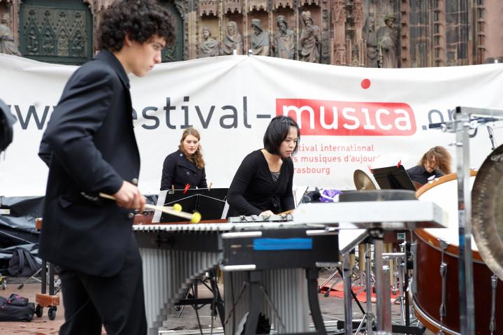 Percussions dans la ville Philippe Stirnweiss